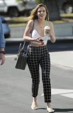 BELLA THORNE Out and About in Los Angeles 04/05/2016