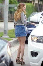 BELLA THORNE Out in Los Angeles 04/10/2016
