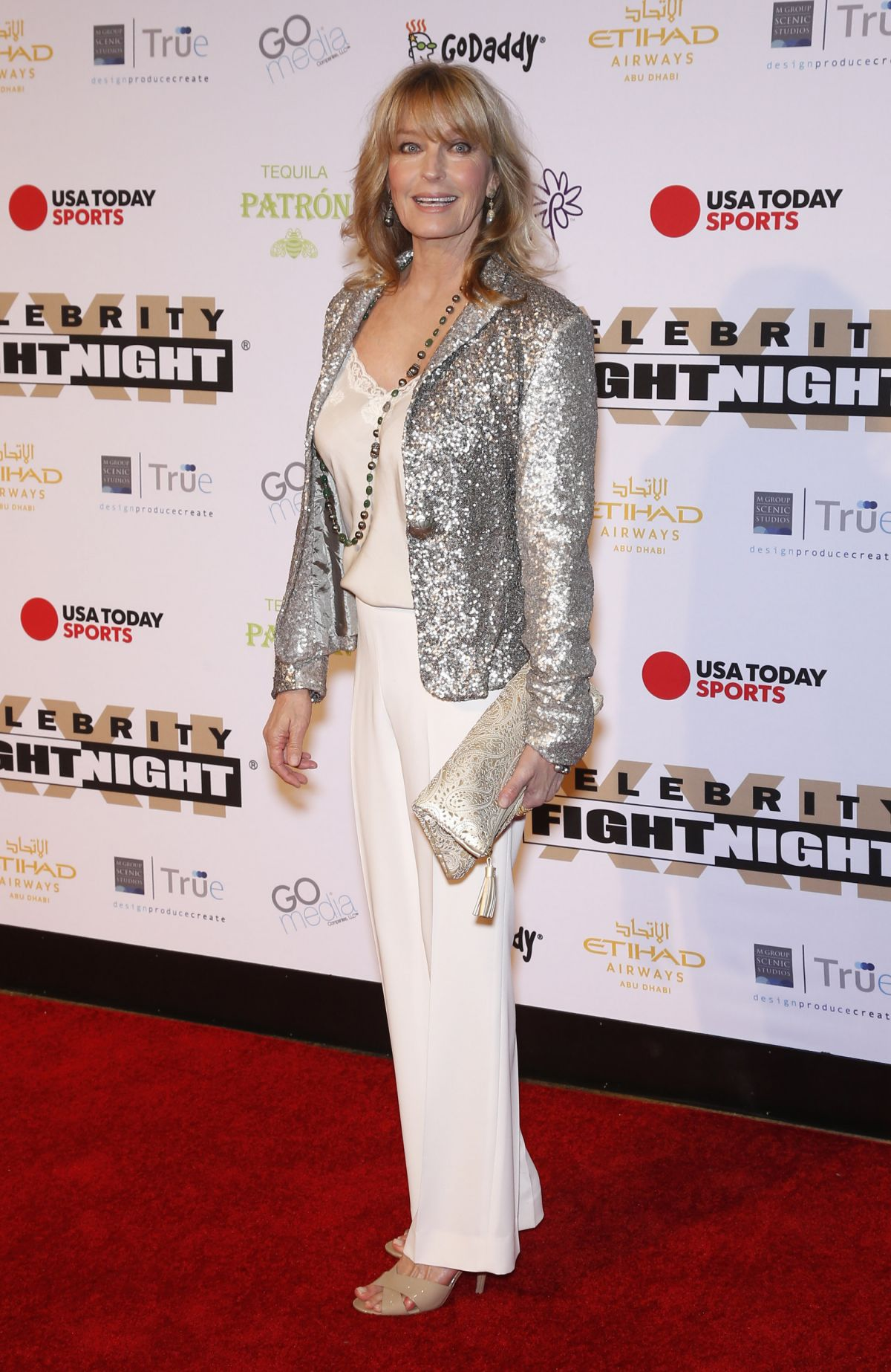 BO DEREK at Muhammad Ali's Celebirty Fight Night XXII in Phoenix 04/09/2016