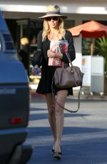 BRANDI GLANVILLE Out and About in Beverly Hills 04/29/2016