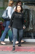 BRENDA SONG Out and About in Beverly Hills 04/25/2016