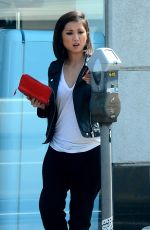 BRENDA SONG Out and About in West Hollywood 04/13/2016