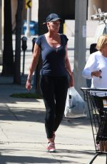 BRIGITTE NIELSEN Out and About in Studio City 03/15/2016