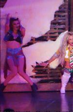 BRITNEY SPEARS Performs in Las Vegas 04/09/2016