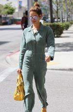 BROOKE BURKE Leaves a Salon in Beverly Hills 04/25/2016