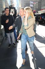 CAMERON DIAZ at Z100 Studio in New York 04/04/2016