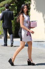 CAMILA ALVES Out and About in Beverly Hills 04/04/2016