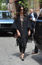 CAMILA ALVES Out and About in Tribeca 04/27/2016