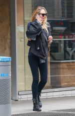 CANDICE SWANEPOEL Out and About in New York 04/29/2016