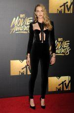 CARA DELEVINGNE at 2016 MTV Movie Awards in Burbank 04/09/2016