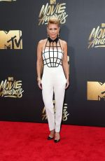 CARRIE KEAGAN at 2016 MTV Movie Awards in Burbank 04/09/2016