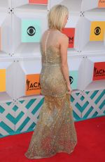 CARRIE UNDERWOOD at 51st Annual ACM Awards in Las Vegas 04/03/2016
