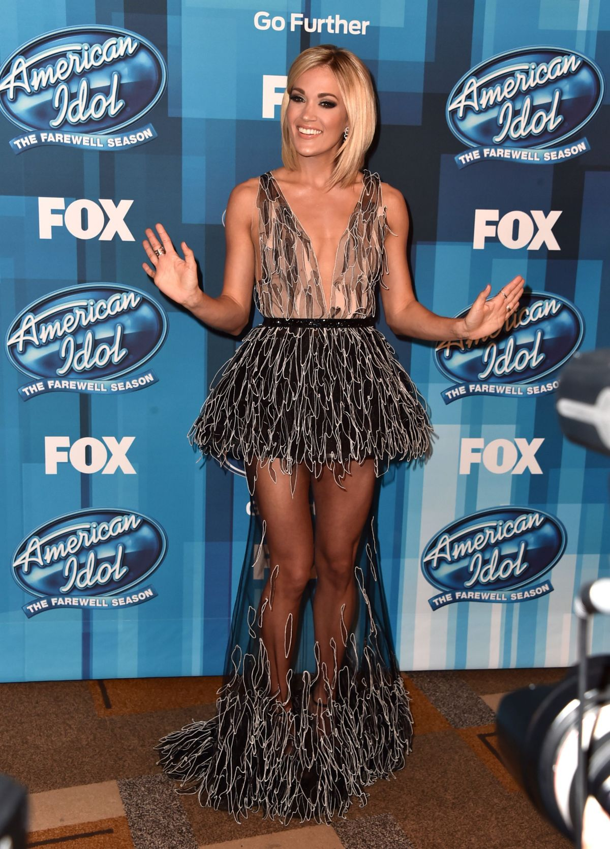 CARRIE UNDERWOOD at American Idol Finale for the Farewell Season in Hollywood 04/07/2016