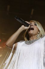 CARRIE UNDERWOOD Performs at 4th ACM Party for a Cause Festival in Las Vegas 04/01/2016