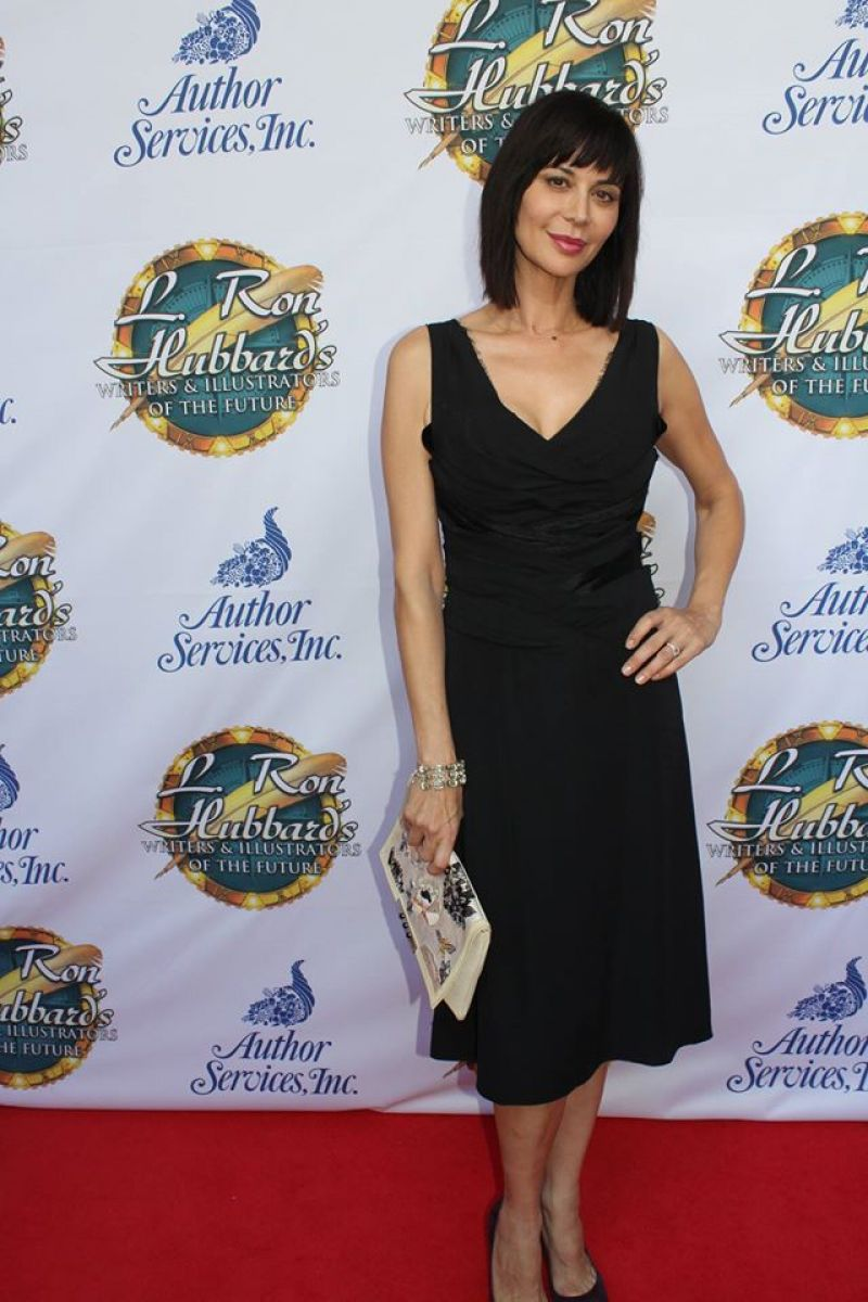 CATHERINE BELL at L. Ron Hubbard Writers & Illustrators of the Future Awards Ceremony 04/10/2016