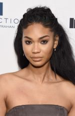 CHANEL IMAN at Sports Illustrated Fashionable 50 Event in New York 04/12/2016