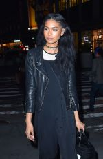 CHANEL IMAN Night Out in New York 04/20/2016