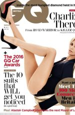CHARLIZE THERON in GQ Magazine, May 2016 Issue