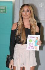 CHARLOTTE CROSBY at ITV Studios in London 04/19/2016