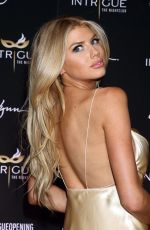 CHARLOTTE MCKINNEY at Intrigue Nightclub Opening in Las Vegas 04/29/2016