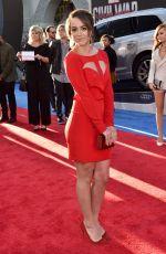CHLOE BENNET at Captain America: Civil War Premiere in Los Angeles 04/12/2016