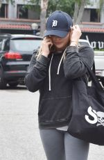 CHLOE MORETZ at Equinox Gym in Los Angeles 04/07/2016
