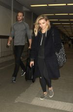 CHLOE MORETZ at LAX Airport in Los Angeles 04/12/2016