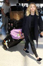 CHLOE MORETZ at Los Angeles International Airport 04/20/2016
