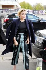 CHLOE MORETZ Out in Berlin 04/26/2016