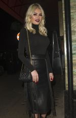 CHLOE SIMS Leaves Sexy Fish Restaurant in London 03/30/2016