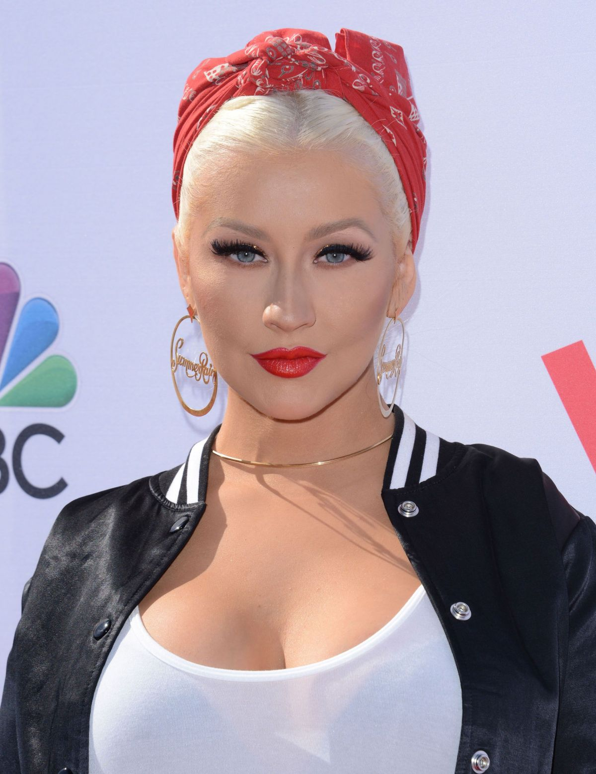 CHRISTINA AGUILERA at Voice Karaoke for Charity in West Hollywood 04 ...