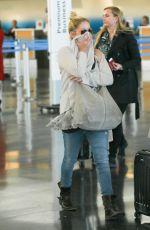 CHRISTINA APPLEGATE at JFK Airport in New York 04/27/2016