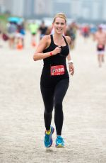CLAIRE HOLT at Life Time Tri Charity Triathlon in Miami 04/03/2016
