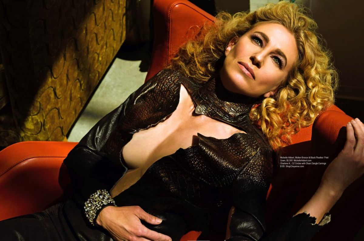 CLAUDIA BLACK in Regard Magazine, April 2016 Issue