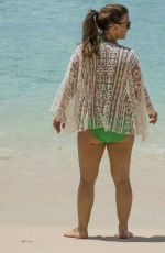 COLEEN ROONEY in Bikini at a Beach in Barbados 03/24/2016