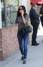 COURTNEY COX Out in Beverly Hills 04/27/2016