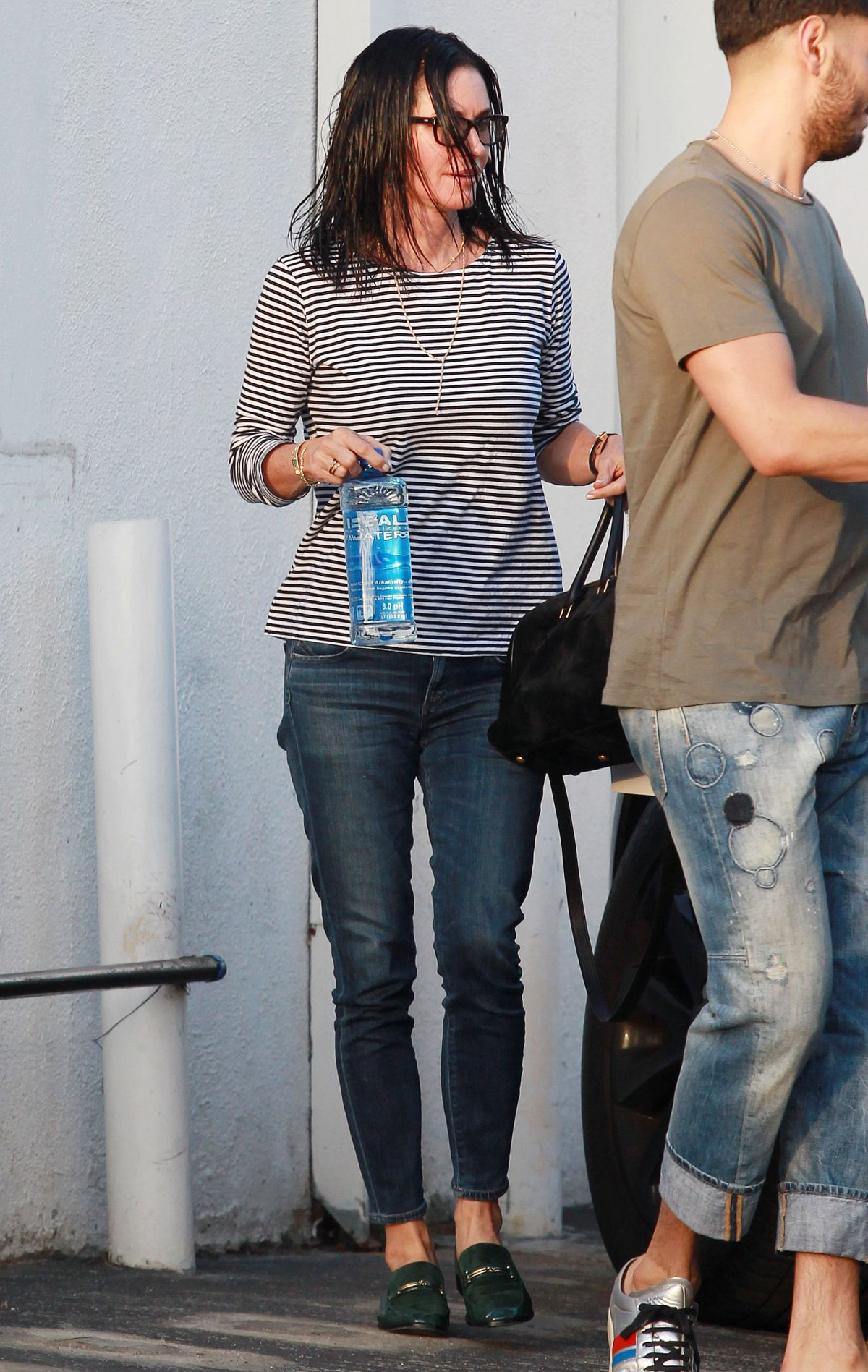 COURTNEY COX Out in West Hollywood 04/11/2016