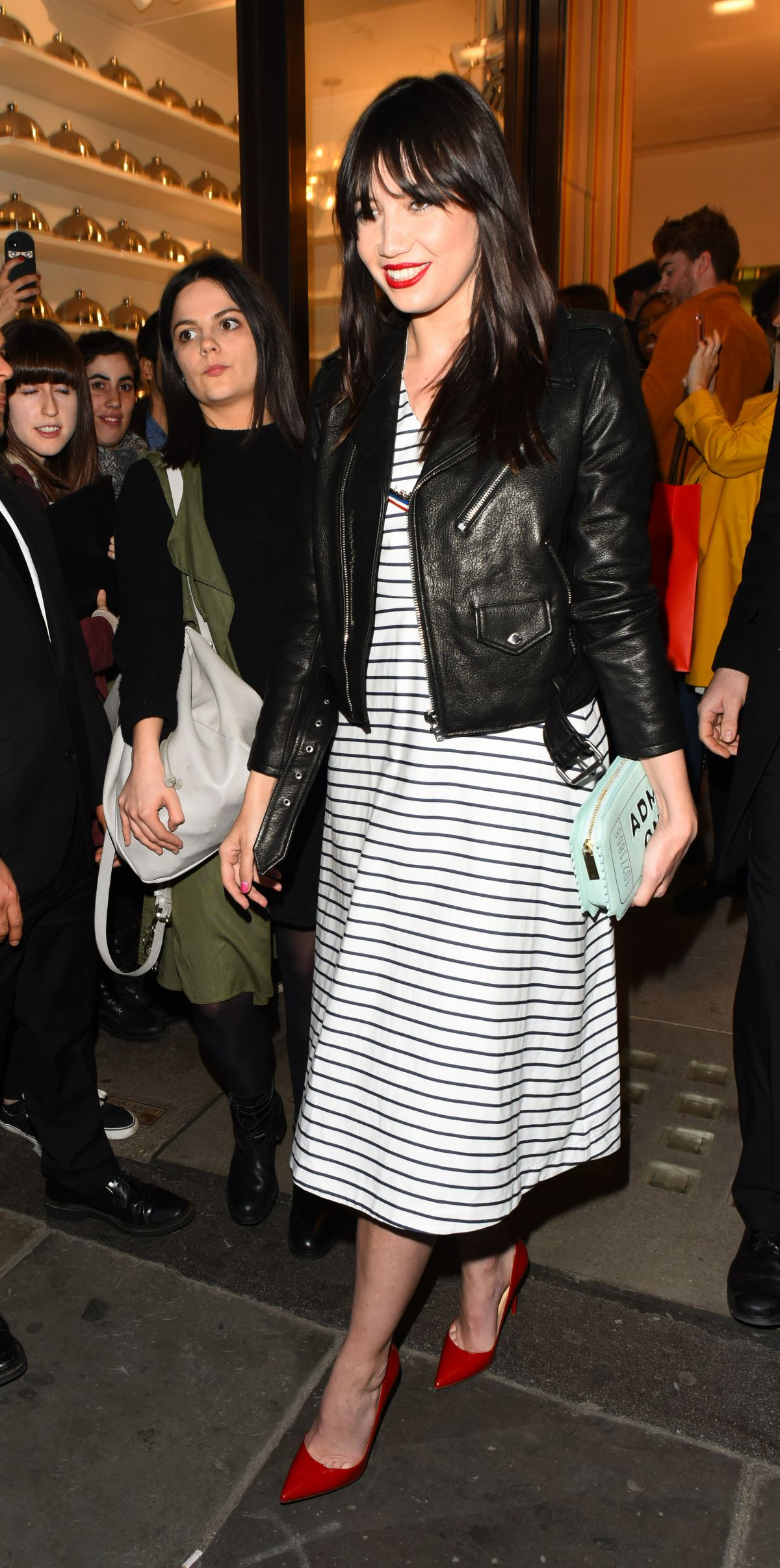 DAISY LOWE at Kate Spade New York Store Opening in London 04/21/2016