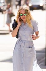 DAKOTA FANNING Out and About in New York 04/18/2016