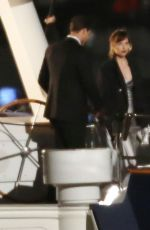 DAKOTA JOHNSON and Jamie Dornan on the Set of 'Fifty Shades Darker' in Vancouver 04/27/2016
