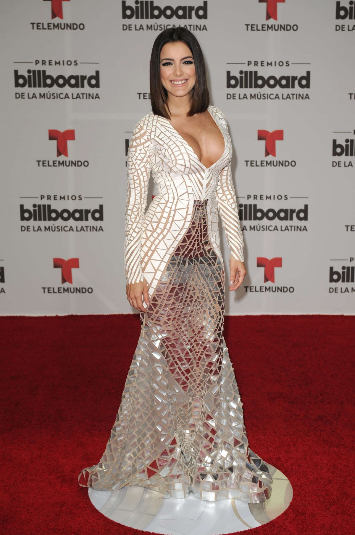 DANIELA NAVARRO at Billboard Latin Music Awards in Miami 04/28/2016