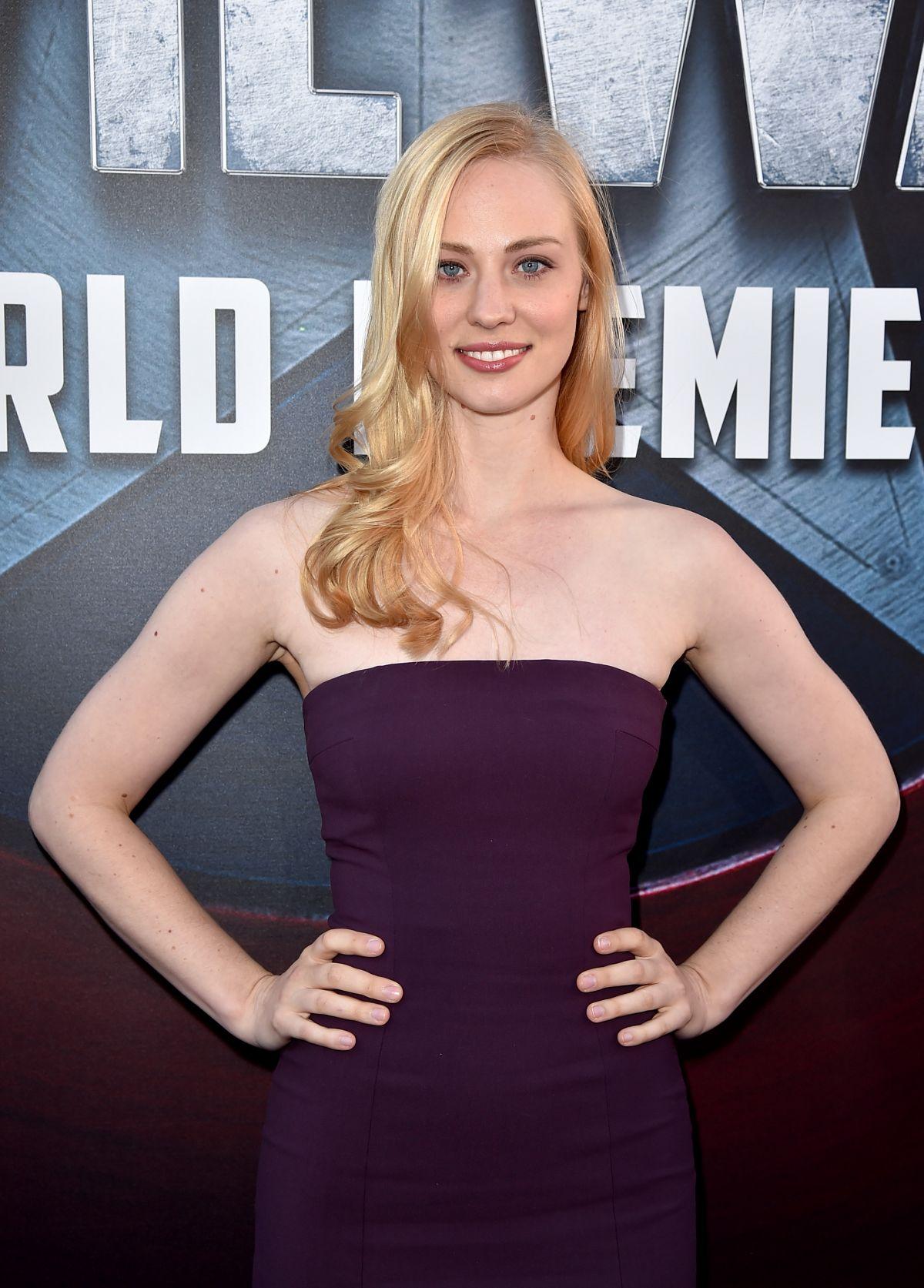 DEBORAH ANN WOLL at Captain America: Civil War Premiere in Los Angeles 04/12/2016