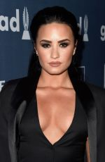 DEMI LOVATO at 2016 Glaad Media Awards in Beverly Hills 04/02/2016