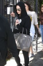 DEMI LOVATO Out and About in Los Angeles 03/30/2016