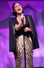 DEMI LOVATO Performs at 27th Annual Glaad Media Awards in Beverly Hills 04/02/2016