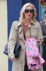 DENISE VAN OUTEN Out Shopping in London 04/14/2016