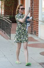 DIANE KRUGER Out and About in Beverly Hills 04/12/2016