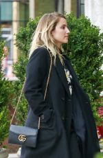 DIANNA AGRON Arrives at Bowery Hotel in New York 03/31/2016