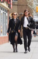 DIANNA AGRON Out and About in New York 04/01/2016