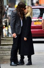 DIANNA AGRON Out and About in New York 04/05/2016